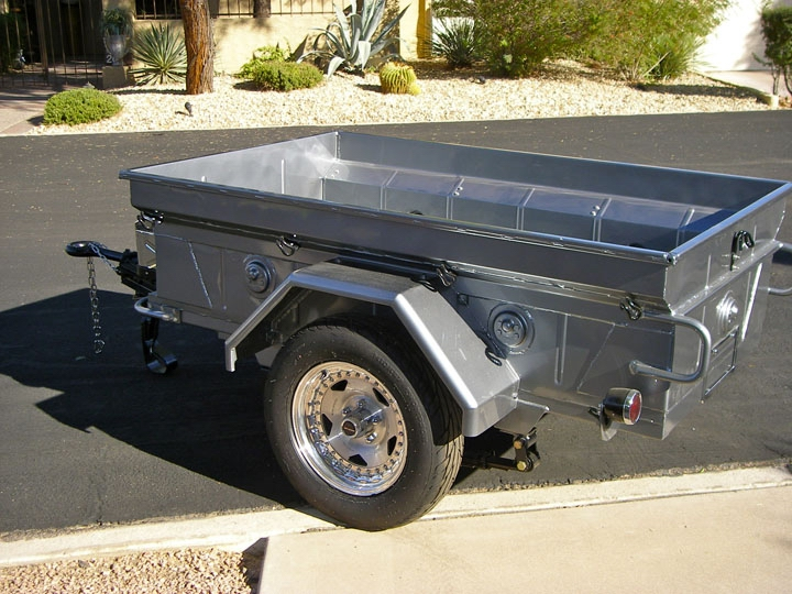 1/4 Ton jeep trailer military