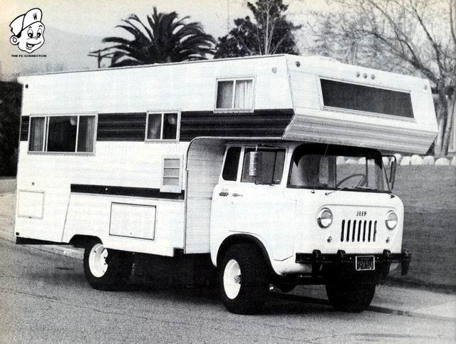 Jeep Cab Over Camper