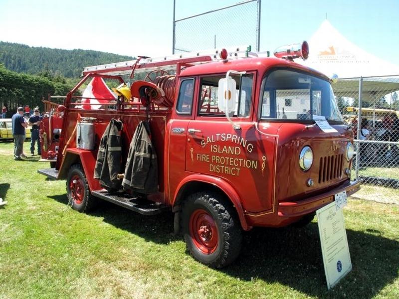 British Columbia Fc 170 Firetruck