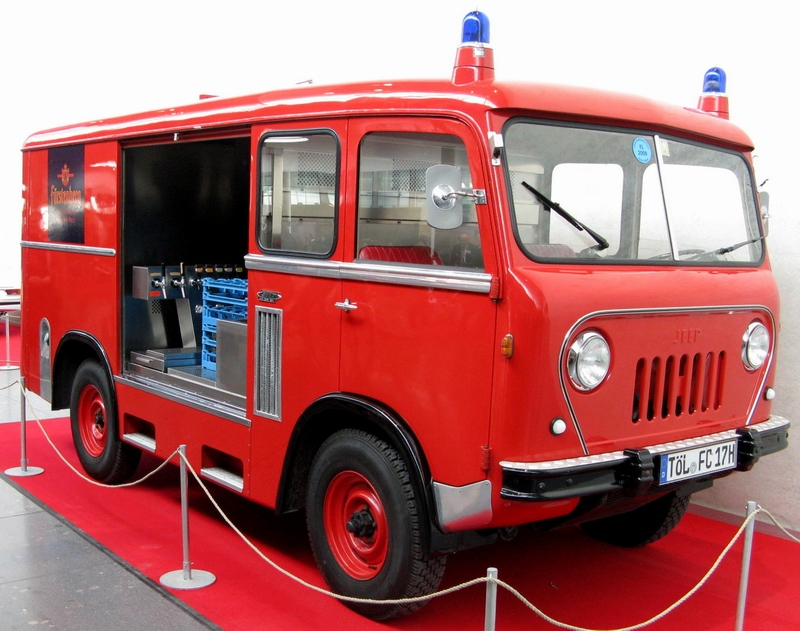 Overseas FC converted Fire Truck